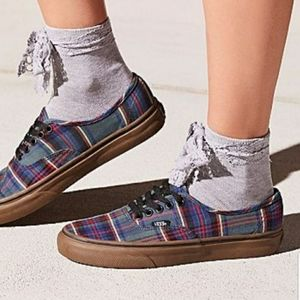 NWT Free People Lace Ribbon Crew Sock